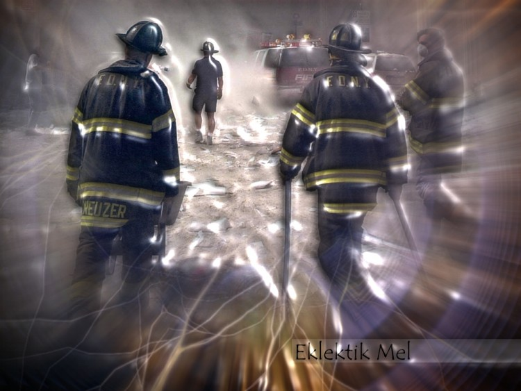 Wallpapers People - Events Firefighters - Fire we're living in a fu***** world