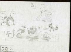 Fonds d'écran Art - Crayon Dragon Ball