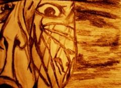 Fonds d'écran Art - Crayon Veines Sombres