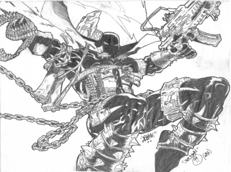 Fonds d'écran Art - Crayon BDs - Comics spawn.