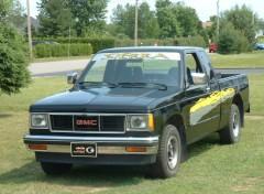 Fonds d'écran Voitures GMC S15 SIERRA 1987