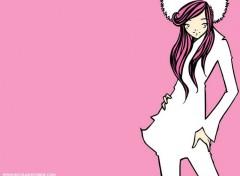 Wallpapers Manga pink