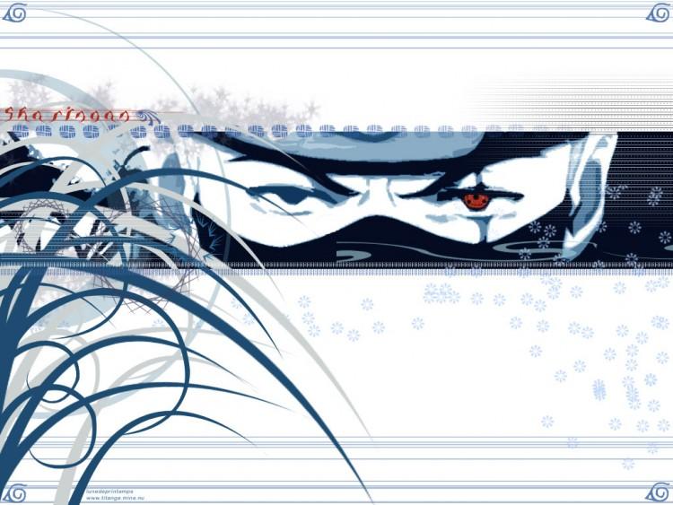 Fonds d'écran Manga Naruto Kakashi - Sharingan