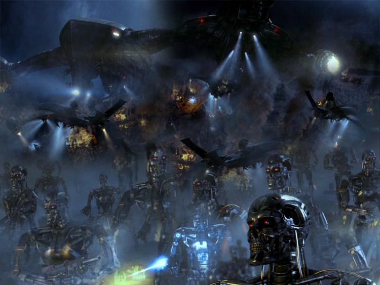 Fonds d'écran Cinéma Terminator 3 - le Soulèvement des Machines Le Soulevement Des Machines