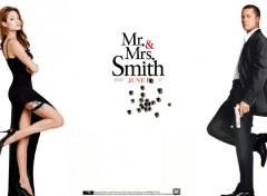 Fonds d'écran Cinéma Mr et Mrs Smith