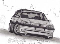 Fonds d'écran Art - Crayon 106 xsi