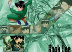 Fonds d'écran Manga Rock Lee