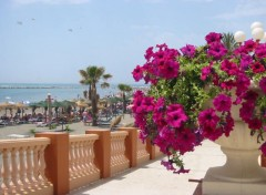 Fonds d'écran Voyages : Europe Andalousie- Devant la plage de Benalmadena