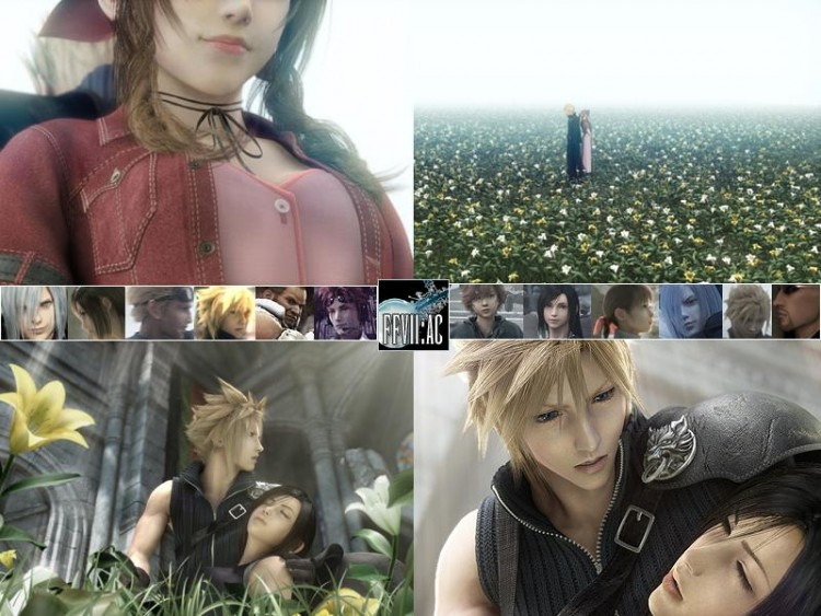 Wallpapers Video Games Final Fantasy Advent Children FF 7 AC