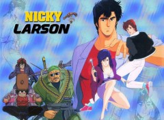 Wallpapers Manga Nicky Larson