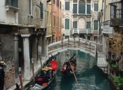 Fonds d'écran Voyages : Europe Venise- Gondolier