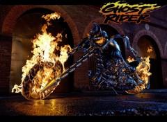 Fonds d'écran Cinéma Ghost Rider's ride