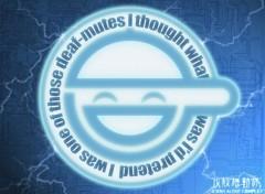 Fonds d'écran Dessins Animés laughing man