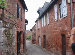 Fonds d'écran Voyages : Europe Collonges la rouge