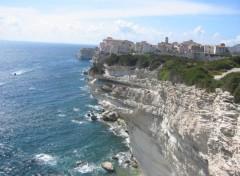 Fonds d'écran Voyages : Europe Bonifacio sur sa falaise