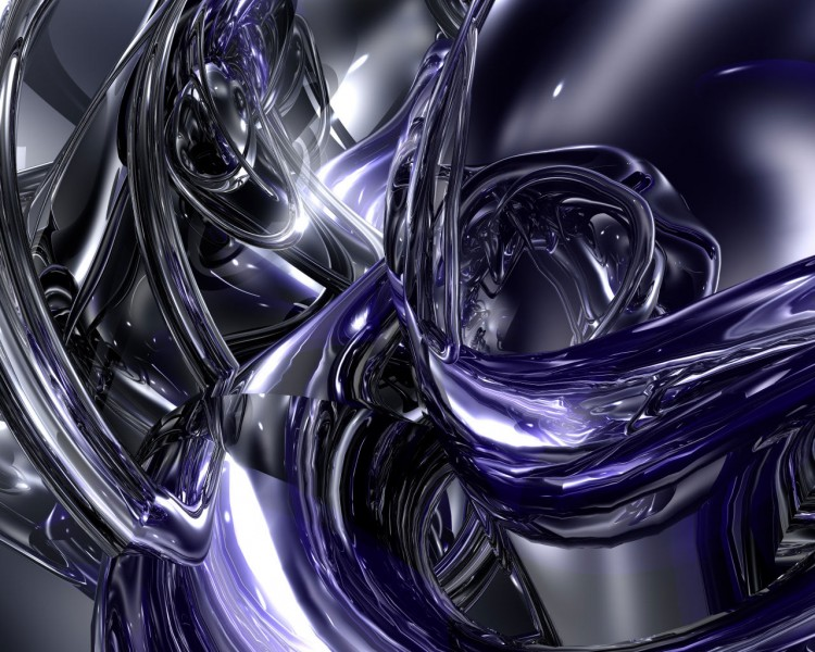 Fonds d'écran Art - Numérique 3D - Bryce Abstract original