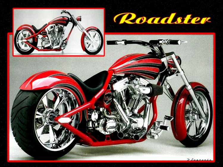 Wallpapers Motorbikes Harley Davidson Roadster