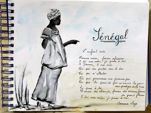 Fonds D Ecran Art Peinture Fonds D Ecran Illustration Poeme Senegalais Par Pilloumelo Hebus Com