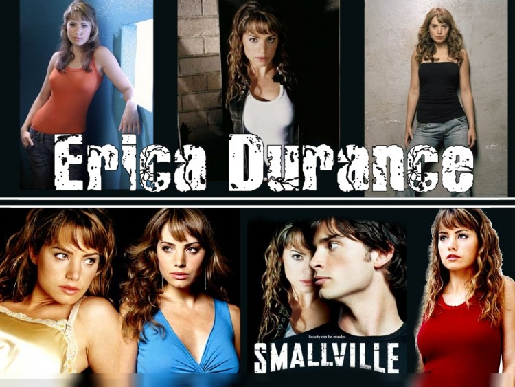 Fonds d'écran Séries TV Smallville Erica Durance