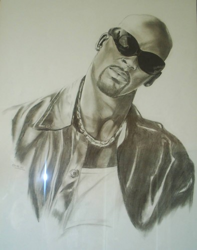 Wallpapers Art Pencil Wallpapers Music Rkelly By Ella