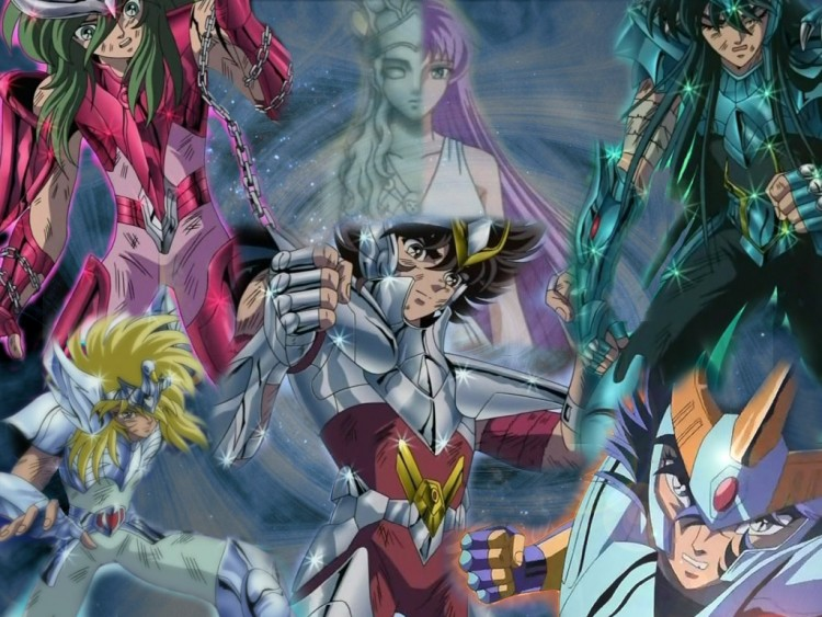 Wallpapers Manga Saint Seiya Les chevaliers de Bronze