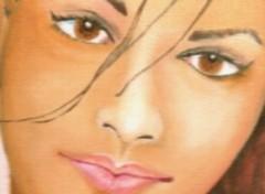Fonds d'écran Art - Peinture Le regard de Monna Lisa