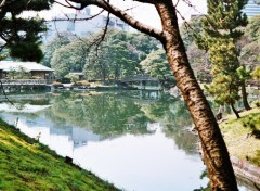 Fonds d'écran Voyages : Asie Hama Rikyu