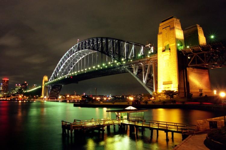 Fonds d'écran Voyages : Océanie Australie SYDNEY HARBOUR BRIDGE
