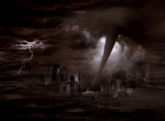 Wallpapers Digital Art Tornado