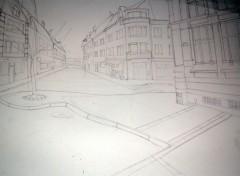 Fonds d'écran Art - Crayon perspective crayon a valenciennes