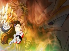 Wallpapers Manga GOKU ET BROLY