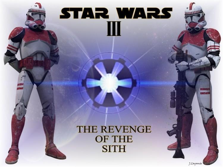 Fonds d'écran Cinéma Star Wars III - La Revanche des Sith Clone Troopers