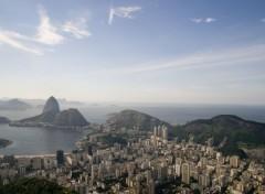Fonds d'écran Voyages : Amérique du sud Brazil From Top of Corcovado