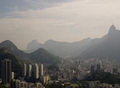 Fonds d'écran Voyages : Amérique du sud View of Corcovado from Sugar Loaf