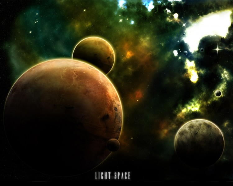Wallpapers Space Planets Light Space