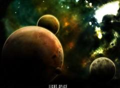 Fonds d'écran Espace Light Space