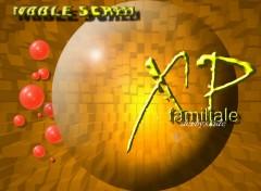 Fonds d'écran Informatique bubble screen - xp family