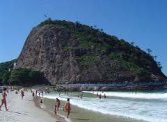 Fonds d'écran Voyages : Amérique du sud Leme Beach