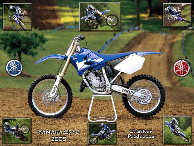 Wallpapers Motorbikes Wallpapers Yamaha Yamaha 125 Yz By Djsilver