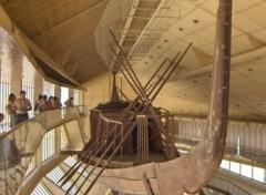 Wallpapers Trips : Africa Pyramide de Gisa, la barque solaire