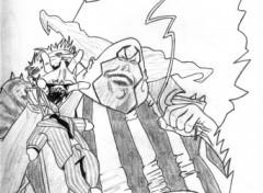 Fonds d'écran Art - Crayon clown de spawn