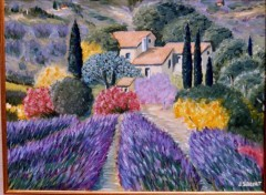 Wallpapers Art - Painting Mas   provençal