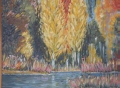 Wallpapers Art - Painting Paysage d'Automne