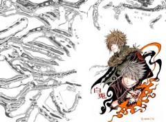 Fonds d'écran Manga kakashi et Yondaine