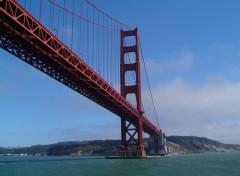 Fonds d'écran Voyages : Amérique du nord Sous le Golden Gate San Francisco