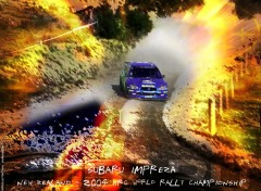 Wallpapers Sports - Leisures Subaru Rallye impression