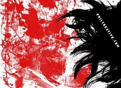 Fonds d'écran Art - Numérique Blood Trash