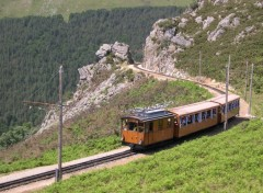 Fonds d'écran Transports divers petit train de la Rhune