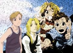 Fonds d'écran Manga brothers