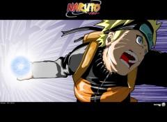 Fonds d'écran Manga Naruto - Rasengan